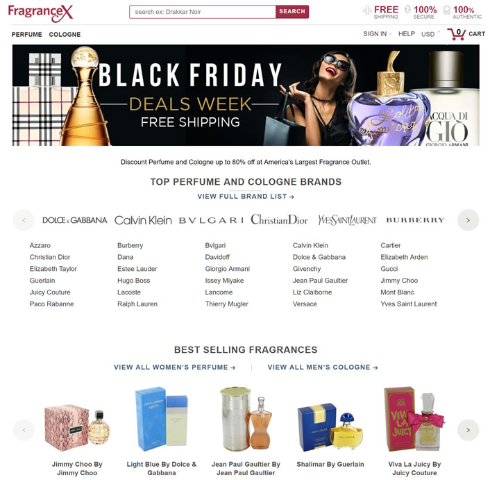 America's Largest Fragrance Outlet: FragranceX.com