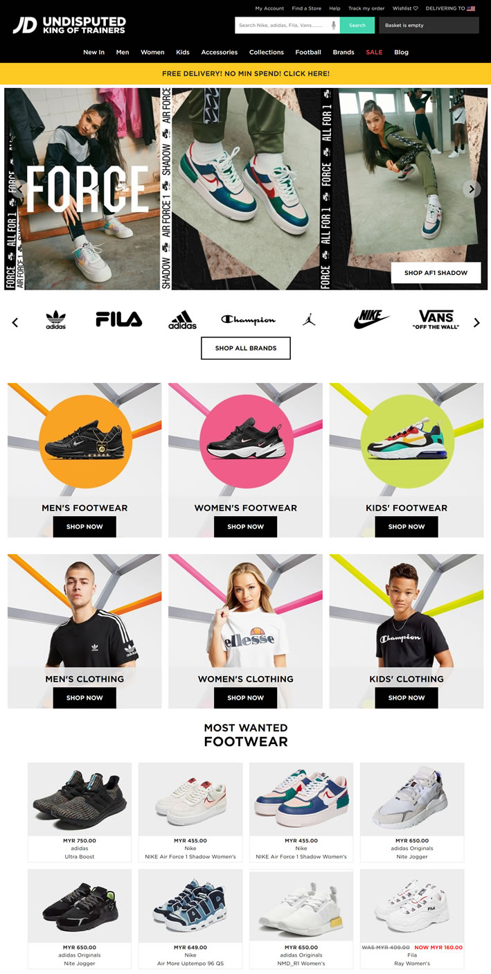 JD Sports Malaysia: UK's Leading Trainer and Sports Fashion Retailer